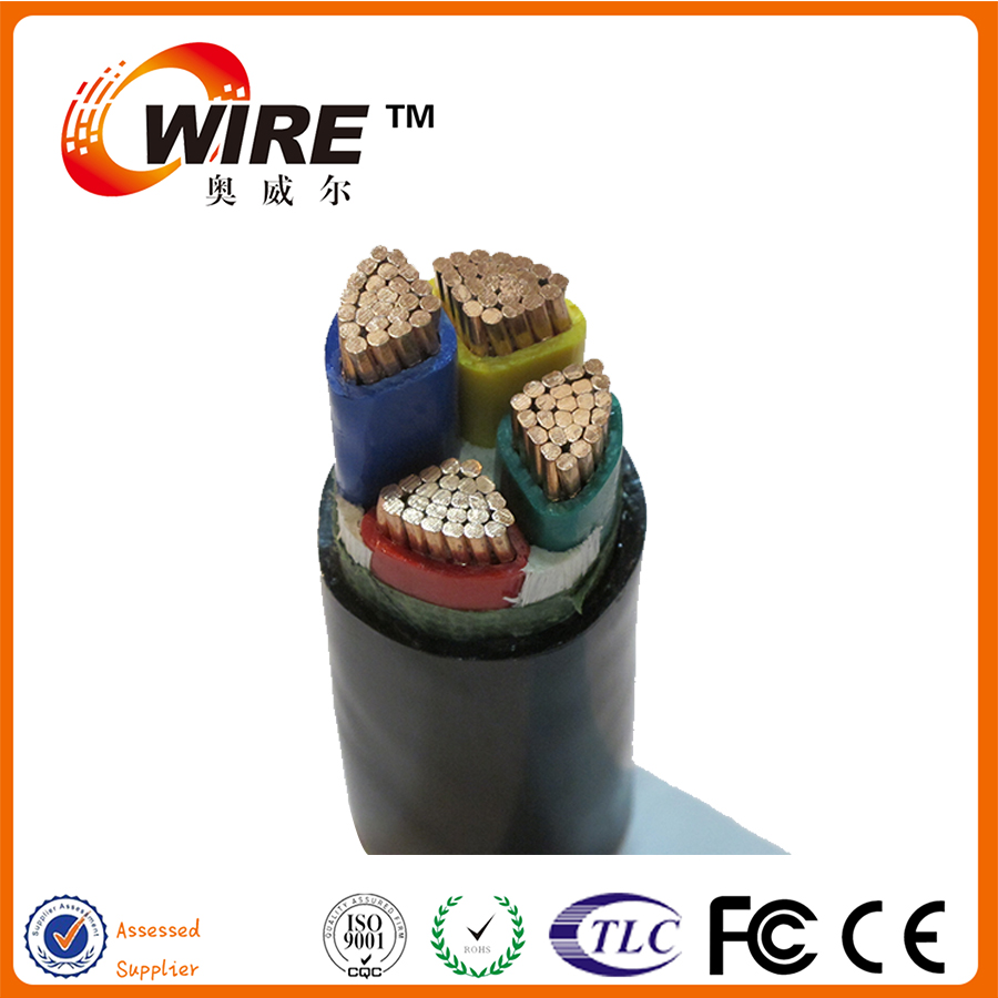 Steel Wire Armoured Copper Conductor PVC jack Underground Power Cable with CE