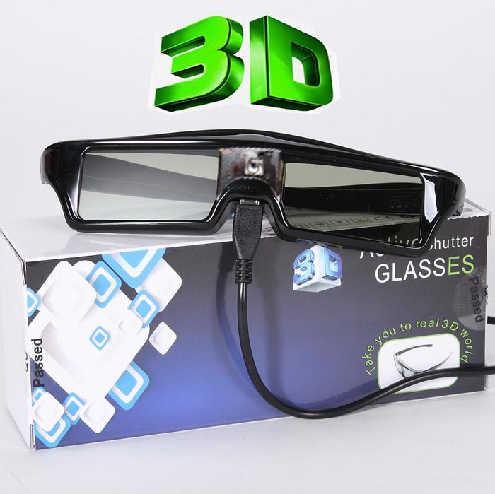 Buena calidad 120 Hz Digital DLP gafas activas 3D
