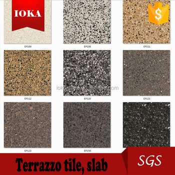 cheap china terrazzo floor tiles size for shopping mall