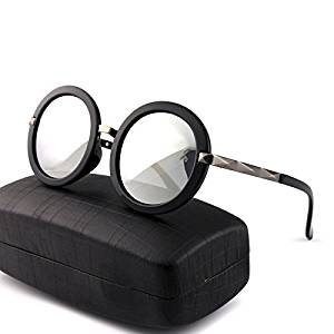 XXL 2016 Europe round sunglasses in polarized glasses color film round driving driving sunglasses the driver mirror