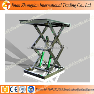 Hot sale ! -- Mini scissor lift/Electric stationary man lift durable in use