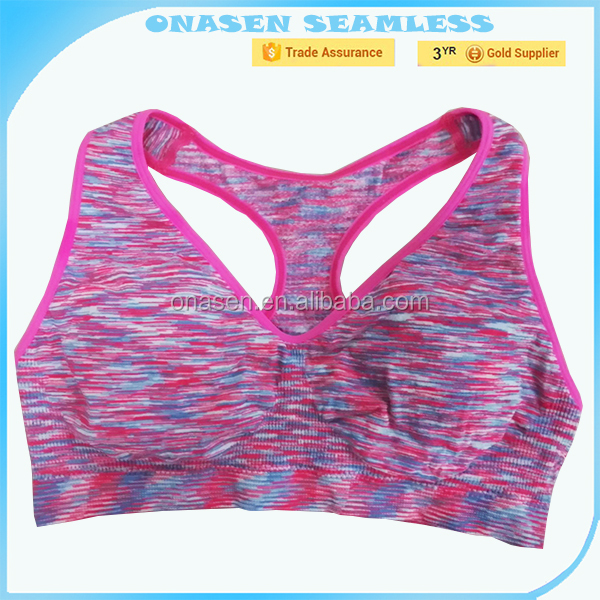 photos china hot image space dyed girl sport seamless bra