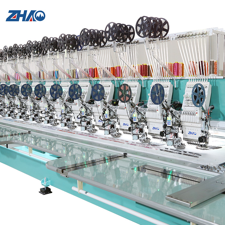 high speed 928 computerized wide flat/sequin embroidery machine