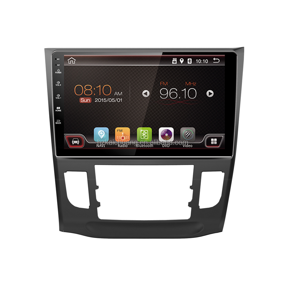 Car Radio Android 4.4 Car GPS Multimedia Navigator with Reversing Camera and Blueeoth and Mobile Phone Network