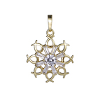33177 Xuping new arrival fashion dubai gold plated quantum science pendant