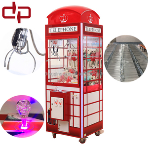 DingPin 2017 new crown personalized gift machine claw machine toy crane doll making machines manufacturing companies in china
