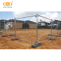 Hot sale nature metal assembled galvanized outdoor fence / australia temporary fence