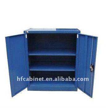 Small Metal Stationery Cupboard/Mini File Cabinet