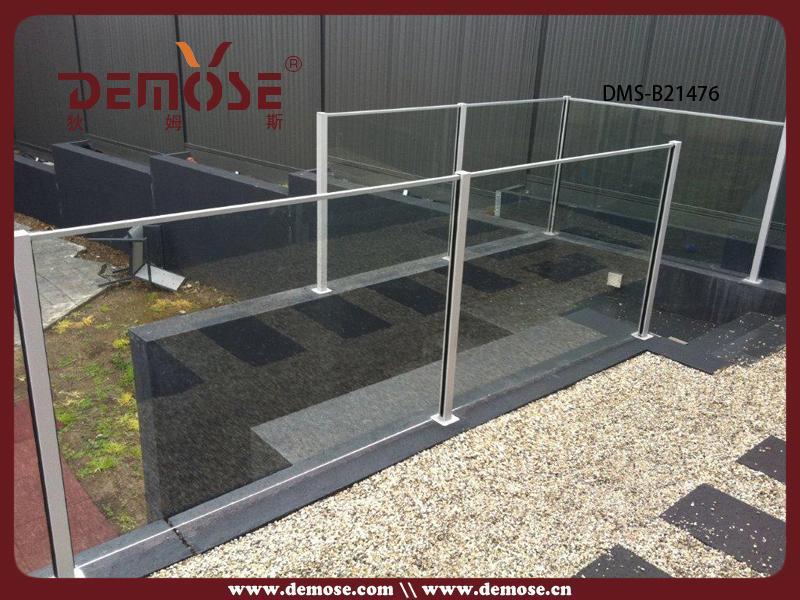Home Aluminum U Channel Railing/glass Railing U Profile Design ...