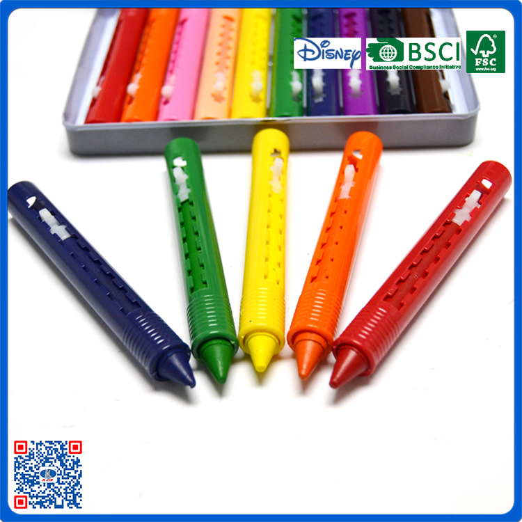 7PCS Body Painting Plastic Kids Crayons/bath crayon made in China