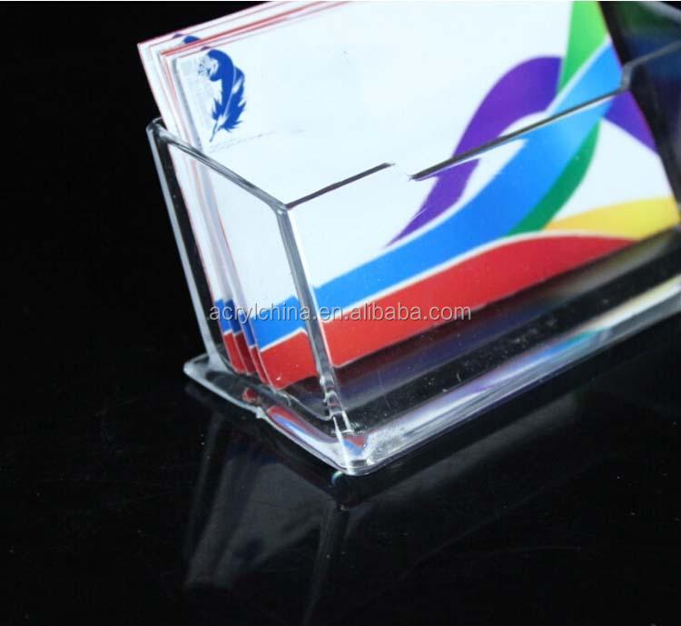 Klar Manufaturer Direktverkauf Acryl Visitenkartenbox Für 60 Stücke Plexiglas Visitenkartenbox Mit 105 45 45mm Buy Acryl Visitenkartenbox Für 60