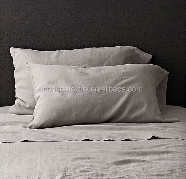 Incroyable French Linen Bed Sheets, Stone Washed Linen Bedding Set