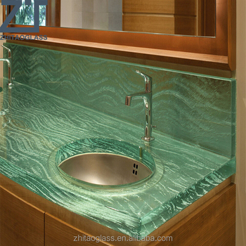 Solid Surface Fusion Sink Countertop