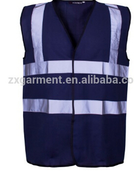 good price work clothing high visibility warning transport reflective safety vest with pockets factory in guangzhou
