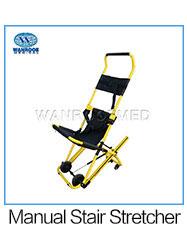 רפואי מטופל חירום מדרגות מעלית כיסא עם שלוש עמדה