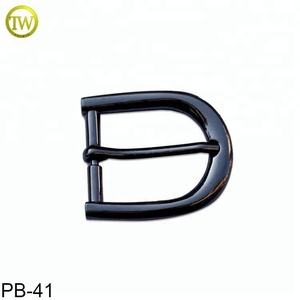 High quality 35mm pin buckle manufacturer black nickle bulk belt buckles