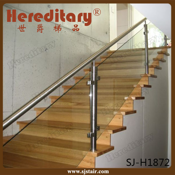 Stainless Steel Railings Glass Handrails Installation