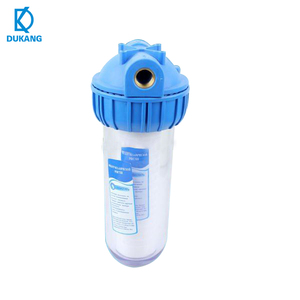 "10"" Blue Water Filter Housing 1/4"" port for Water Purifier Filter Housing"