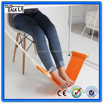hot selling under desk foot rest mini home hammock office adjustable control desk hammock