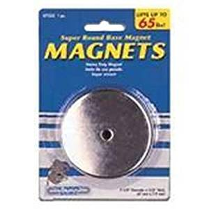"""New Master Magnetic 07222 2 5/8"""" 65lb Lift Round Magnet Sale 9523887"""