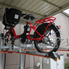 Low Price Of GCR garage two tier bike parking racks