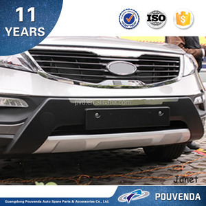 Original type Front Bumper Car Accessories For Sportage R 15+ From Pouvenda