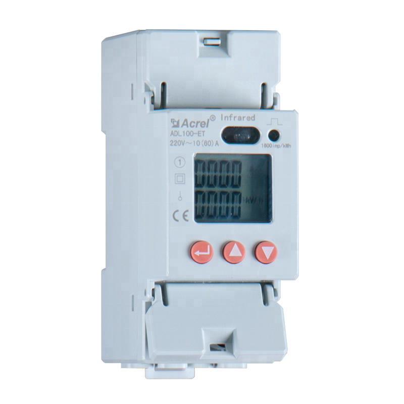 energy meter measuring electricity for power distribution cabinet