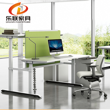 Foshan Office Table Executive Standing Desk LINAK Motors Electric Height  Adjustable Desk Frame