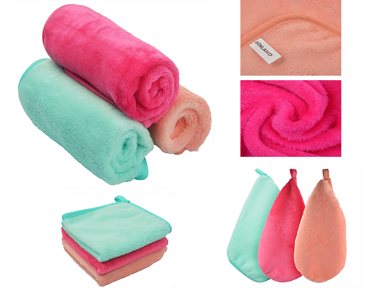 China Microfiber Makeup Remover Cloth Towel Manufacturer