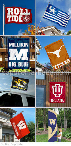 College Team Flags | Sport Football Flags | University Logo Flags ...