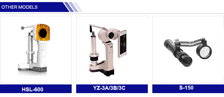 YZ-3B China best quality ophthalmic equipment handheld portable slit lamp