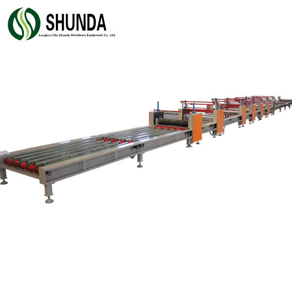 Fiber cement board productie plant