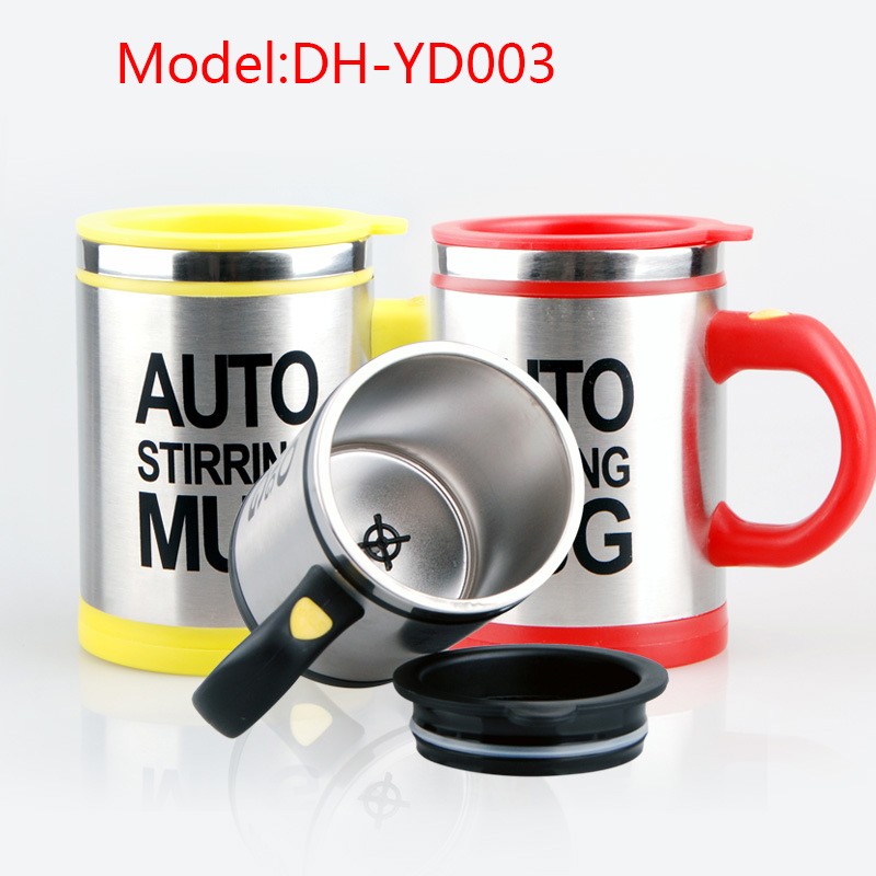 2017 Best Price 450ML Lazy Stainless Steel Automatic electric Self Stirring Mug Milk Mixing Tea Cup/coffee mug