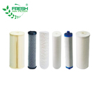 Stainless steel carbon PP material industrial water filter cartridge