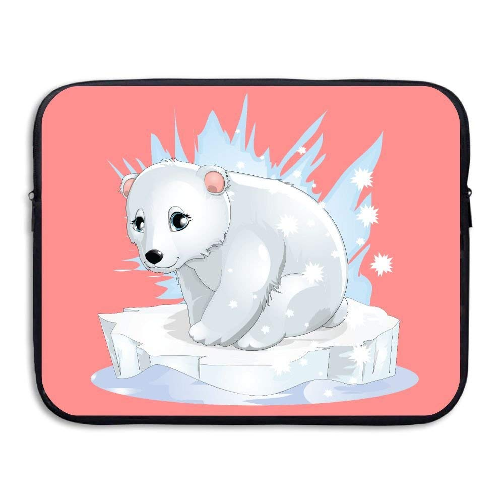 Reteone Laptop Sleeve Bag Friendly Cute Animal Dog Puppy Cover Computer Liner Package Protective Case Waterproof Computer Portable Bags