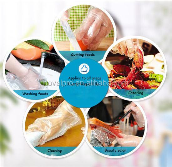 Hohe qualität einweg PE handschuhe für cateringGroßhandel, Hersteller, Herstellungs