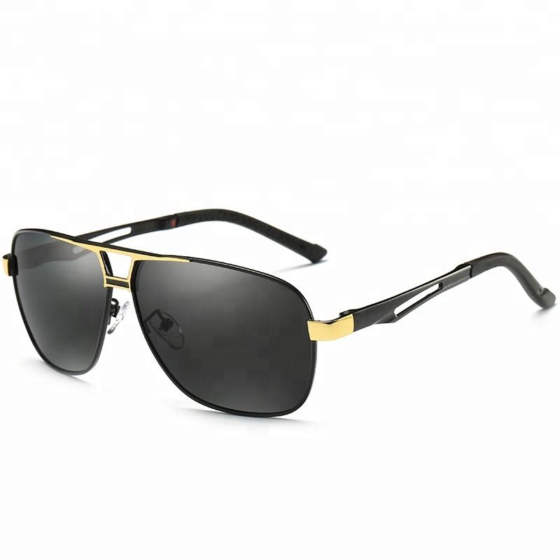 249cb06d78 2019 nouvelle haute qualité mode classique carré de luxe pour hommes uv400  lunettes de soleil polarisantes