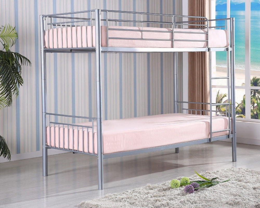 Shorty Bunk Bed Children S Single Double Silver Argos Very