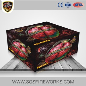 China Goods Wholesale 152 shots Dangerous Mind Cake Fireworks