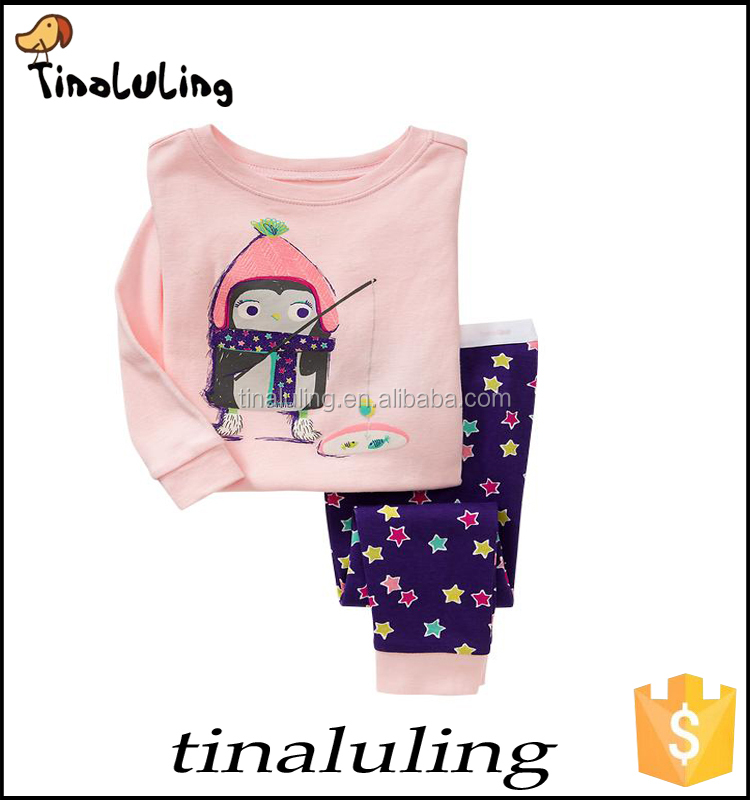 girl sleepwear childer pajamas girl sleepwear Long sleeve+Trousers pajamas