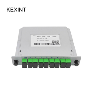 Epacket to Brazil / Wholesale PLC Splitter SC/APC 1*8 Insertion /LGX /Cassette type Fiber Optic / 10piece