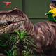 4 meters realistic T-Rex animatronic dinosaur toy ride