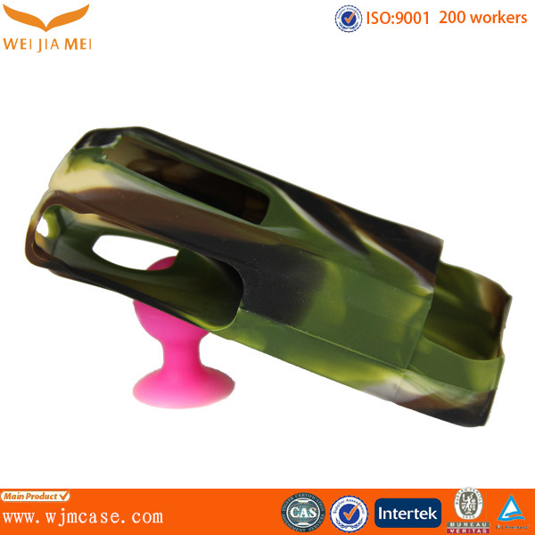 wireless interphone case / OEM injection silicone interphone case / silicone interphone case