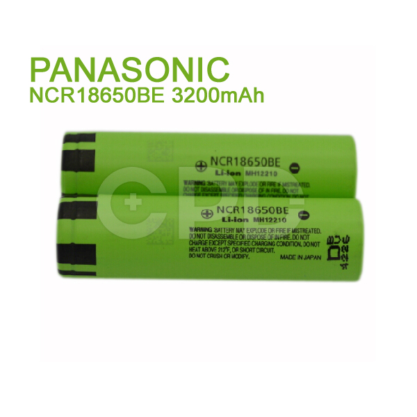 OEM for P anasonic NCR18650BE 3200mAh 3.7V Rechargeable Li-ion Battery Cell for G3 Starter Kit