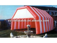 2012 White&Orange Inflatable Tunnel Tent