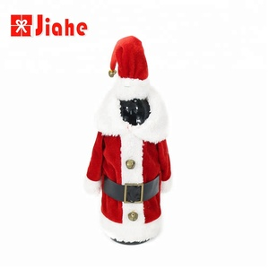 Best yiwu korean wine bag christmas table decoration