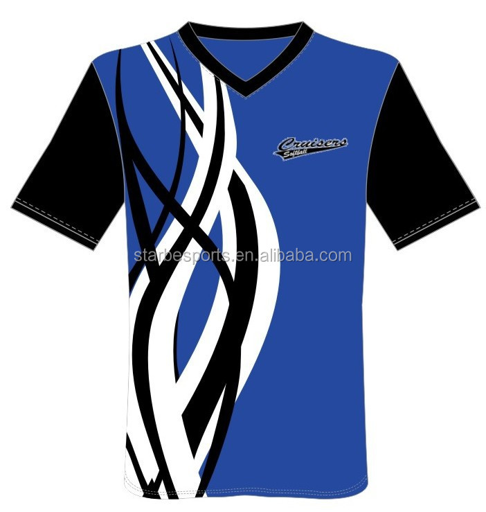High quality custom sublimated softball jerseys wholesale
