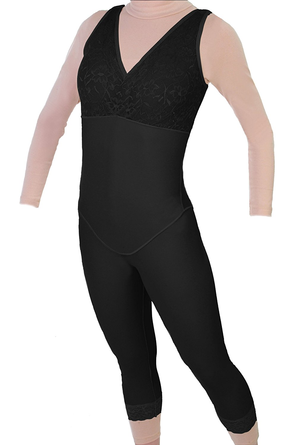 7c0d3107170 ContourMD Style 28NZ - Mid Calf Body Shaper Without Zippers by Contour
