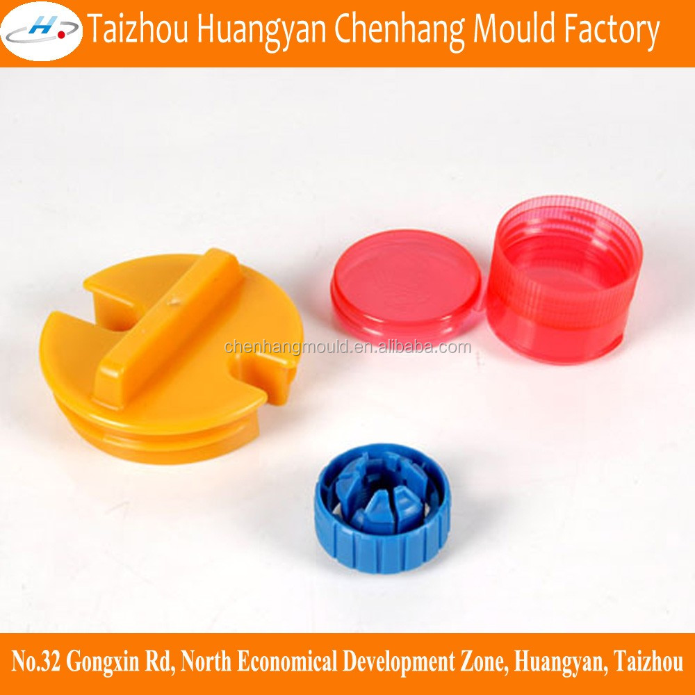 Plastic screw cap <strong>mould</strong>