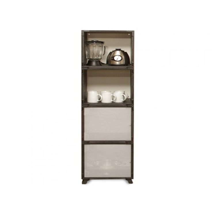 Kinying brand quality design produce adjustable waterproof plastic fashion storage cabinet
